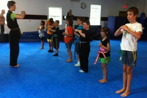 Martial Arts for Children - Kempo Camp - Vermont