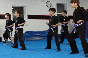 Martial Way Blue Belt Test 6