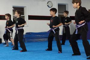 Martial Way Blue Belt Test 6